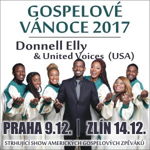 Gospelové vánoce<br>Donell Elly & United Voices