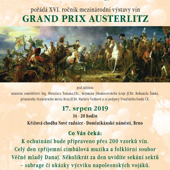 Grand Prix Austerlitz<BR>Mezinárodní výstava vín