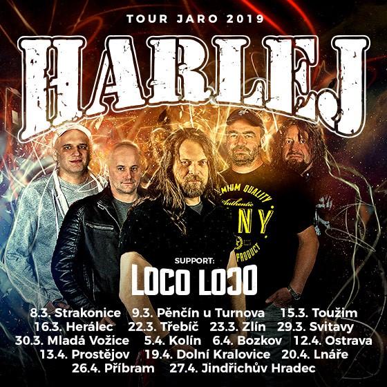 Harlej<br>Tour Jaro 2019<br>Loco Loco