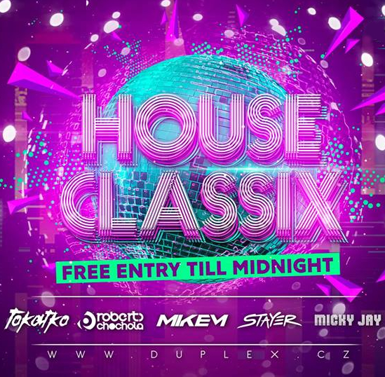House Classix Wednesday, Prague, 16/05/2018 22:00