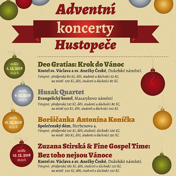 """Zuzana Stirská & Fine Gospel Time<br>""""Bez toho nejsou Vánoce""""<br>Adventní koncert"""