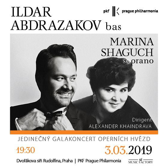 Ildar Abdrazakov & Marina Shaguch<BR>Operní Galakoncert