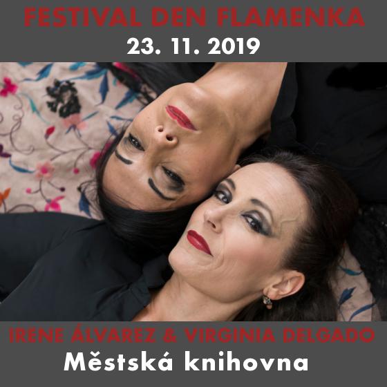 Irene Álvarez & Virginie Delgado: Spící Carmen (ESP)<br>Den Flamenka<BR>Día del flamenco