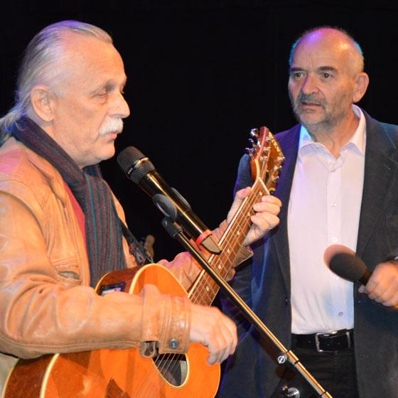 Jan Burian a Jiří Dědeček – novoroční koncert