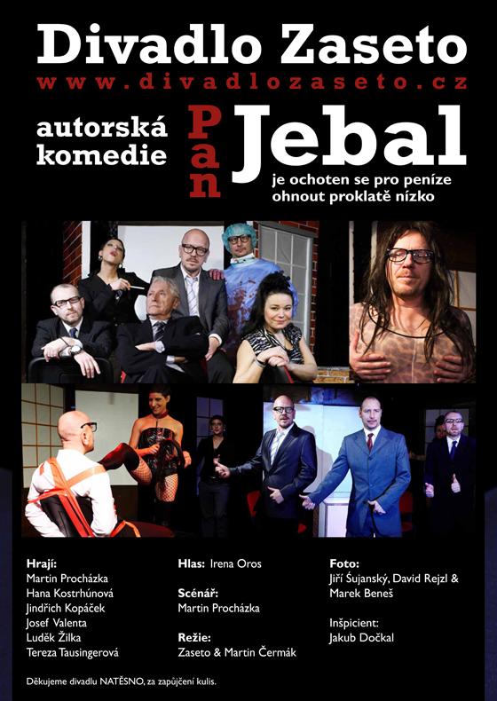 DIVADLO ZASETO:<br>PAN JEBAL<br>divadelni představení