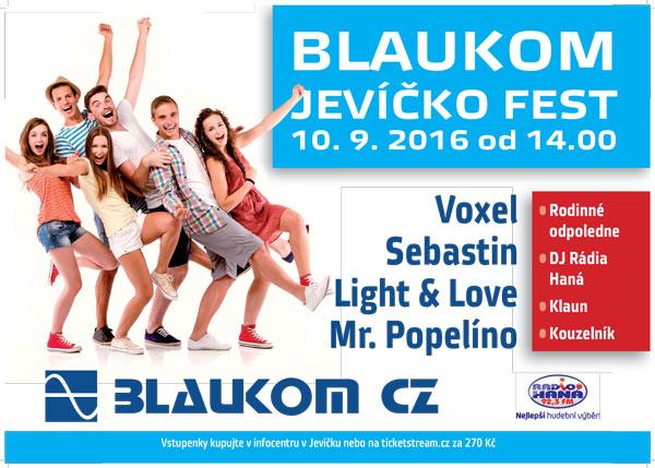 b7e9512deba Koupit vstupenky na BLAUKOM JEVÍČKO FEST