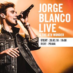 JORGE BLANCO live!/& The 8th Wonder/- koncert Praha -Roxy Prague   Praha