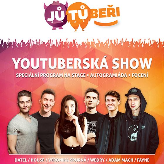 Jutubeři Kadaň<br>Youtuberská show