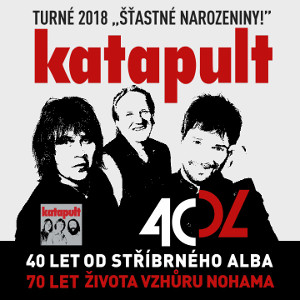 KATAPULT- Turné 2018 Šťastné narozeniny- koncert v Ostravě -Hala Tatran Ostrava