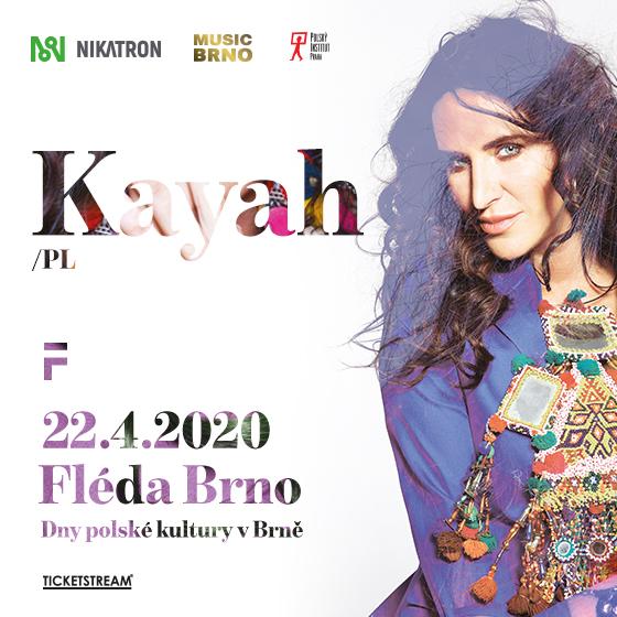 Kayah<br>koncert legendární polské zpěvačky