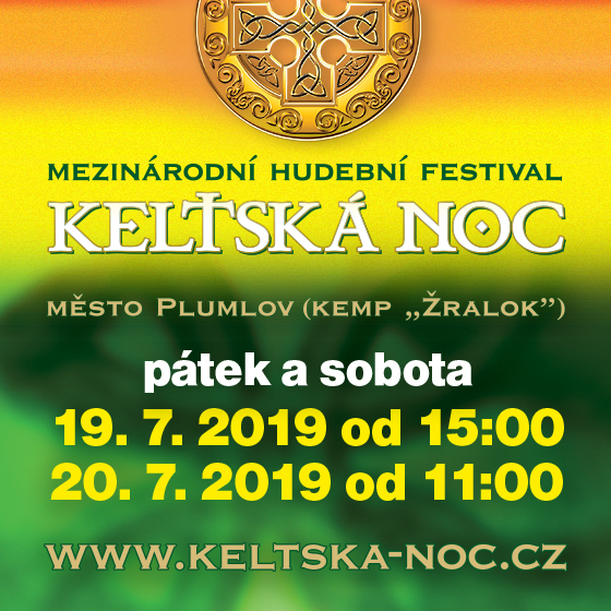 Keltská noc 2019<br>Mezinárodní hudební festival
