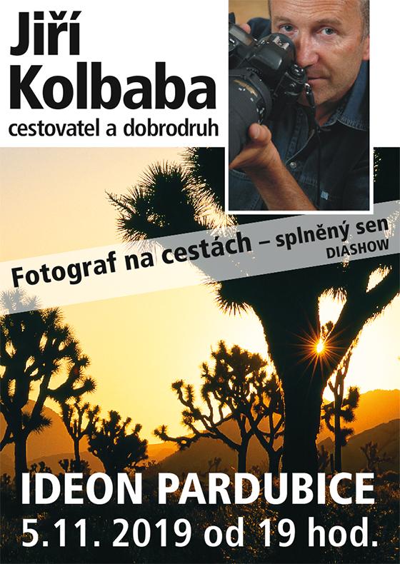 Jiří Kolbaba<br>Fotograf na cestách - splněný sen