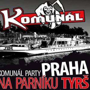 KOMUNÁL/PARTY NA PARNÍKU TYRŠ/- koncert Praha -Parník Tyrš   Praha