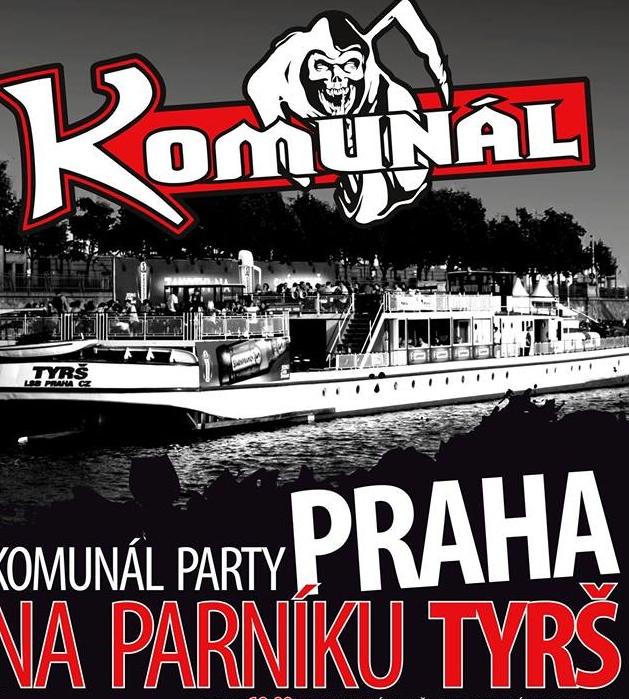 KOMUNÁL/PARTY NA PARNÍKU TYRŠ/ -Parník Tyrš   Praha