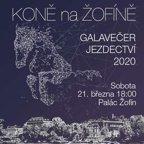 Galavečer Koně na Žofíně