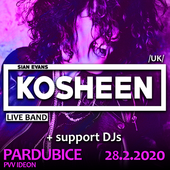 Kosheen (UK) live band<BR>+ support DJs