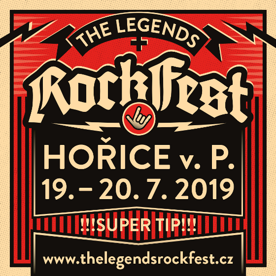 The Legends Rock Fest, Hořice, 19/07/2019 16:00
