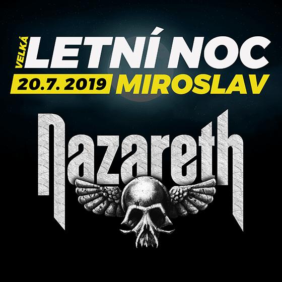 Velká letní noc<BR>Nazareth, RockOpera Praha<BR>Argema, Monroe