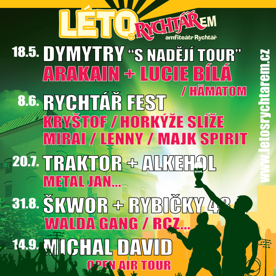 Léto s Rychtářem<br>Michal David<br>Open air tour