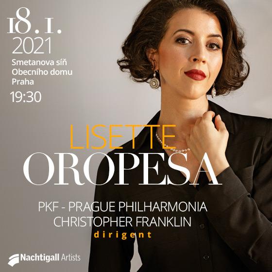 Lisette Oropesa - online- Praha -Obecní Dům Praha