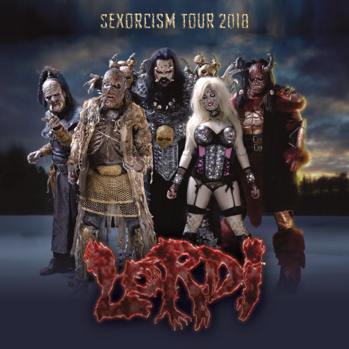 LordiSexorcism Tour, Zlín, 09/11/2018 20:00