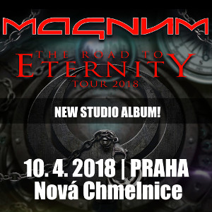 Magnum<BR>The Road To Eternity Tour 2018