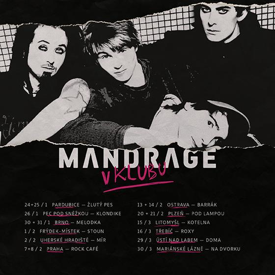 Mandrage<BR>V klubu