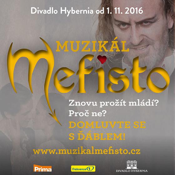MEFISTO/www.muzikalmefisto.cz/- Praha -Divadlo Hybernia Praha