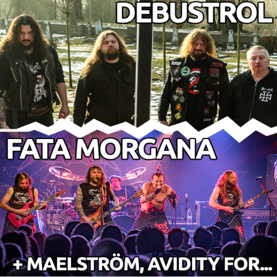 Metal Session vol. 2<BR>Debustrol, Törr, Fata Morgana