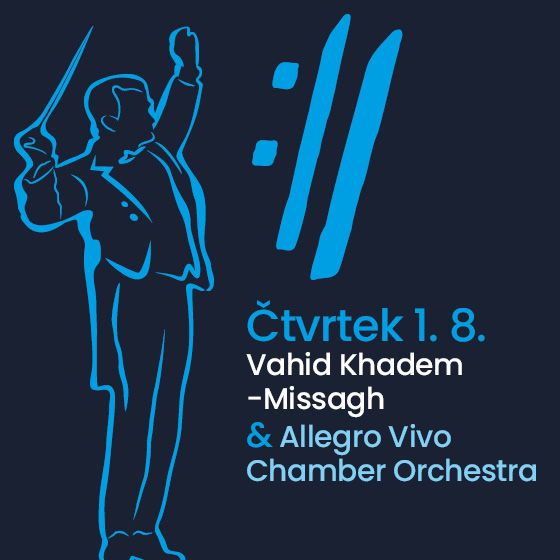 Vahid Khadem-Missagh and Allegro Vivo Chamber Orchestra<BR>International Music Festival Český Krumlov 2019