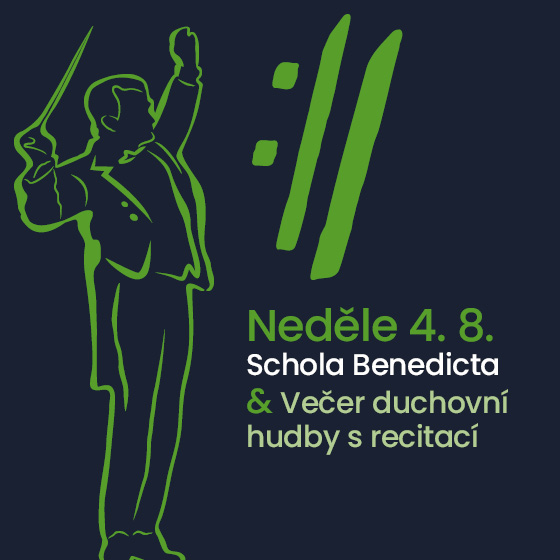 Schola Benedicta<BR>Mezinárodní hudební festival Český Krumlov 2019