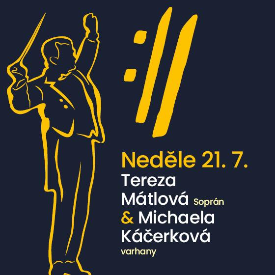 Tereza Mátlová and Michaela Káčerková<BR>International Music Festival Český Krumlov 2019