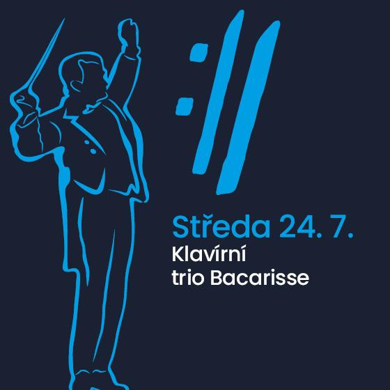 Piano trio Bacarisse<BR>International Music Festival Český Krumlov 2019