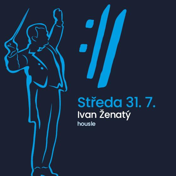 Ivan Ženatý<BR>International Music Festival Český Krumlov 2019