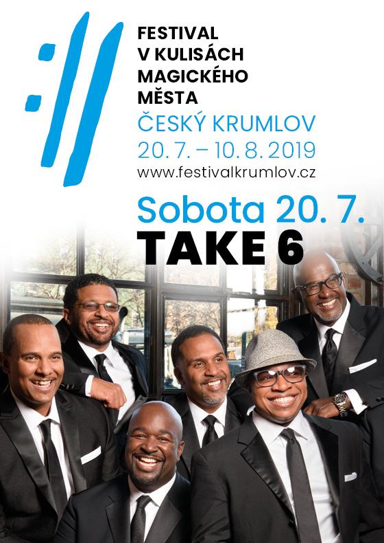 Take 6 and Severočeská filharmonie Teplice<BR>Mezinárodní hudební festival &#268;eský Krumlov 2019