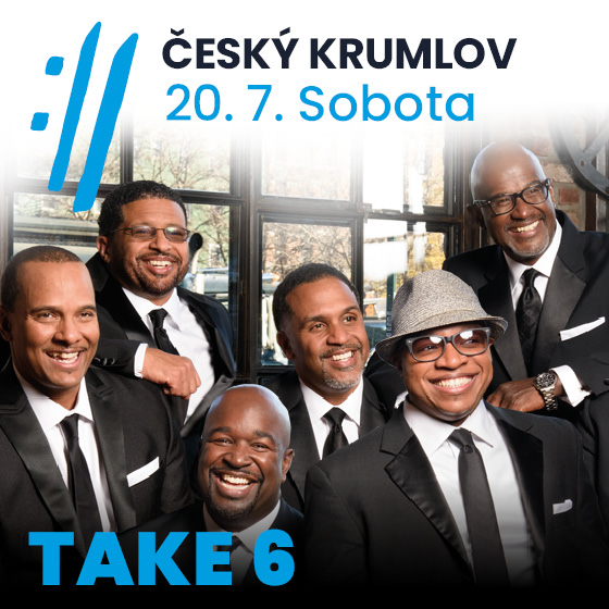 Take 6 a Severočeská filharmonie Teplice<BR>Mezinárodní hudební festival Český Krumlov 2019