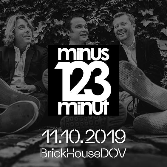 minus123minut- koncert v Ostravě -BrickHouse DOV Ostrava