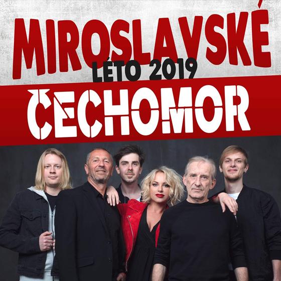 Miroslavské Léto<br>Čechomor, Slza, Anna K., Hrad92<br>A další