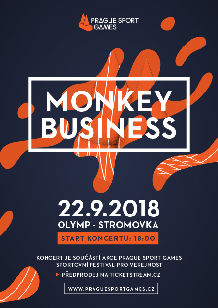 Monkey BusinessPrague Sport Games, Praha 7, 22/09/2018 18:00
