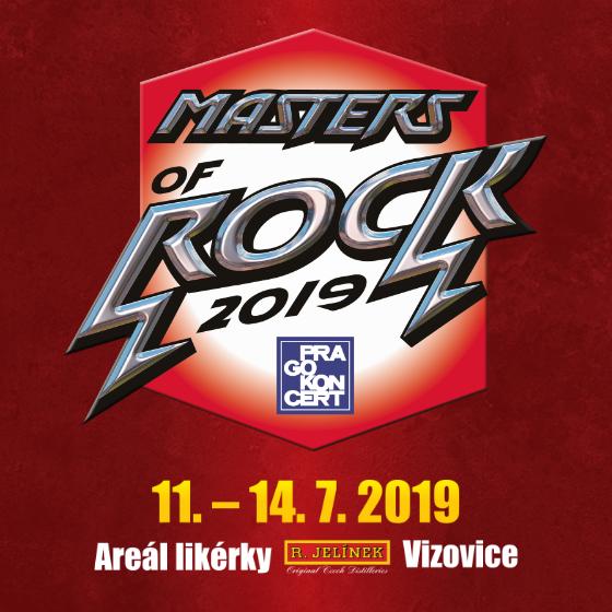 MASTERS OF ROCK 2019- festival- Vizovice- AVANTASIA, WITHIN TEMPTATION, DREAM THEATER, TARJA TURUNEN, DIMMU BORGIR, CHILDREN OF BODOM, SOULFLY a další -areál likérky R. Jelínek, Razov 472, Vizovice