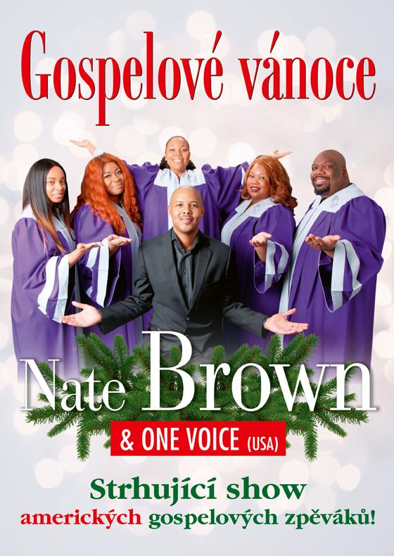Nate Brown & One Voice: Gospelové vánoce