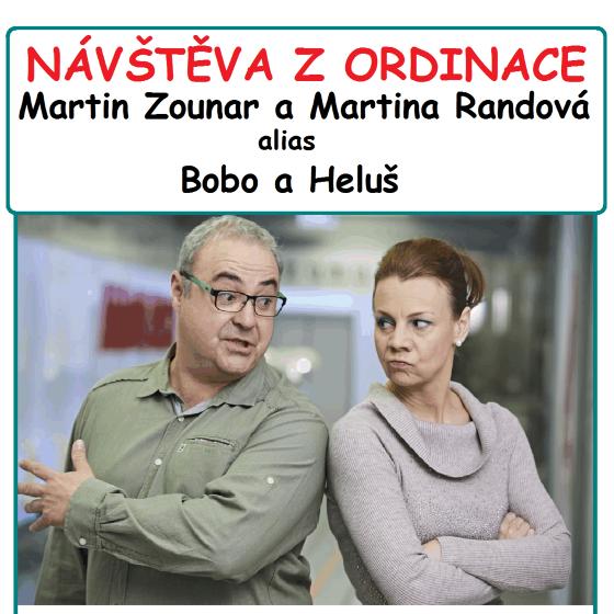 Návštěva z Ordinace - Martin Zounar a Martina Randová
