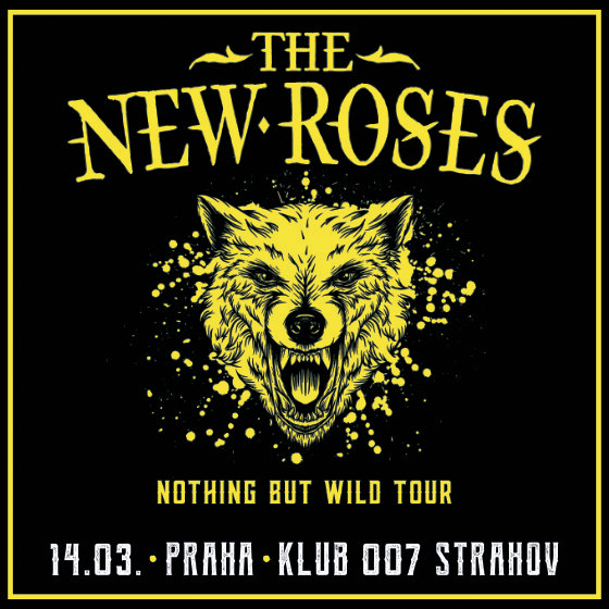 The New Roses<br>Nothing But Wild Tour 2020<br>+ Special Guest