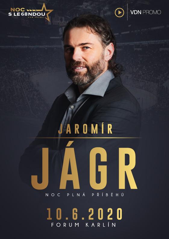 Noc s legendou - Jaromír Jágr