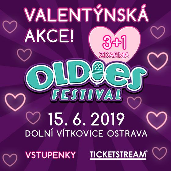 Oldies Festival V.<br>Valentýnská akce