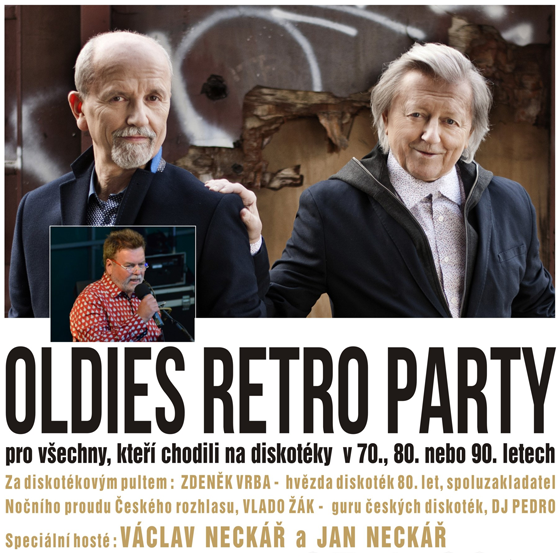 Oldies Retro Party, Karlovy Vary, 25/01/2019 20:00
