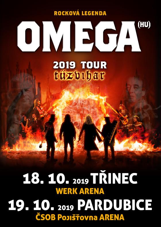 "Omega<br>Tour 2019 ""Tűzvihar"""