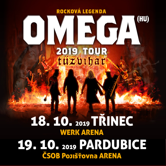Omega<br>Tour 2019 Tűzvihar