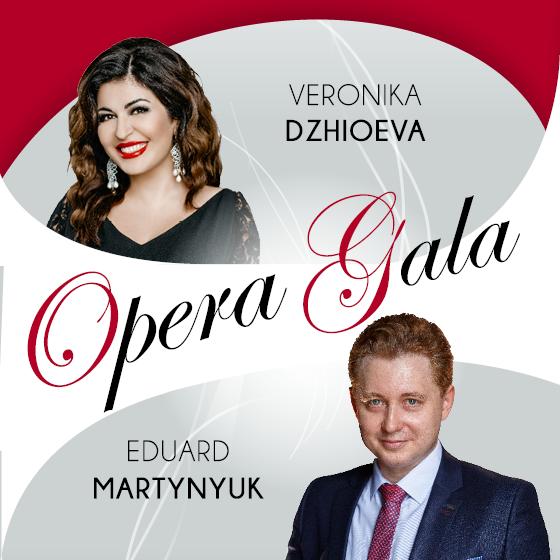 OPERA GALA<br>Veronika Dzhioeva & Eduard Martynyuk<br>Perly světové opery v Rudolfinu