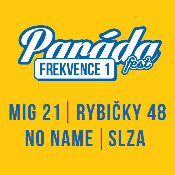 Paráda Fest Frekvence 1<br>Předprodej 2019